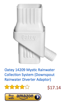 Oatey14209MysticRainwaterCollection
