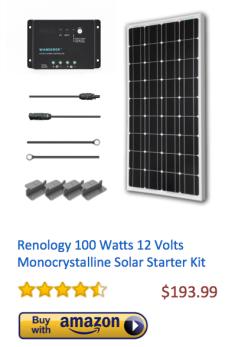 Renology-100Watt-Monocrystalline