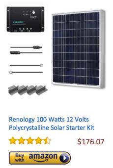 Renology-100Watt-Polycrystalline