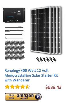 Renology-400Watt-Monocrystalline
