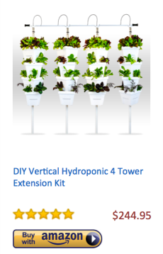 DIY-Vertical-Hydroponic-4-Tower-Extension-Kit