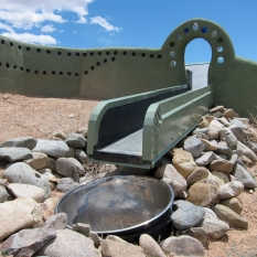 earthship-rainwater-catchment by flickr is licensed under a Creative Commons Attribution 4.0 International License.
